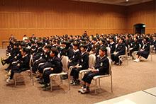 平成26年度 青少年からのメッセージ・青少年へのメッセージ 表彰式
